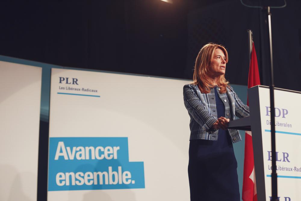 PETRA GÖSSI AN DER DELEGIERTENVERSAMMLUNG DER FDP